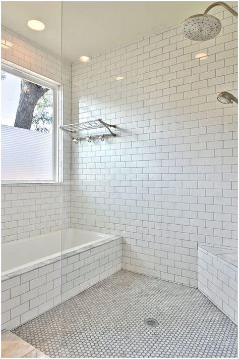 bathroom transitional austin corner bench seat glass