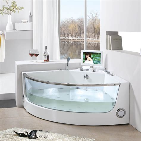 Corner Stand Alone Tub by Breathtaking Soaking Tubs Models And Type Ideas For