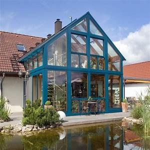 Wintergarten 2 Stöckig : wohnraumerweiterung mit komfort im zweigeschossigen wintergarten bei sonneberg baumann ~ Markanthonyermac.com Haus und Dekorationen