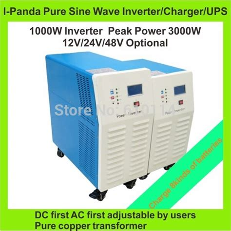 ce rohs lcd led display sine wave combined inverter and charger 1000w i p tpi 1000w dc to