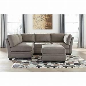 Signature design by ashley iago 4 piece modular sectional for Modular sectional sofa ashley furniture