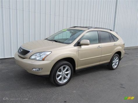 metallic lexus 2009 golden almond metallic lexus rx 350 awd 61345763