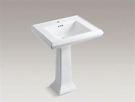 kohler memoirs pedestal sink 27 kohler memoirs r classic 27 quot pedestal bathroom sink with
