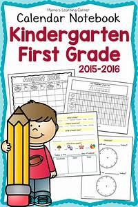Free Printable First Grade Calendar Notebook