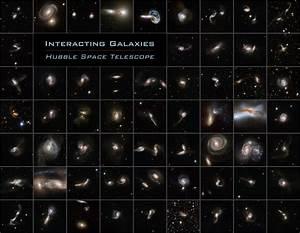NASA - Cosmic Collisions Galore!