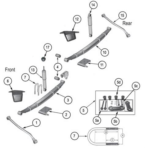 Jeep Exploded Diagram by Jeep Wrangler Yj Suspension Parts Exploded View Diagram