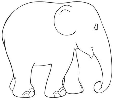 elephant template printable elephant template elefantes elephant template elephants and templates