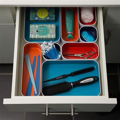 metal drawer organizers starter kit  container store