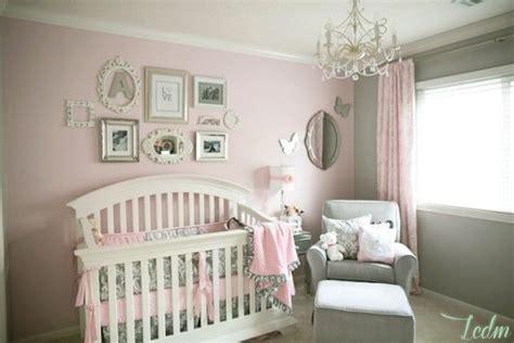 les chambres bebe idées déco chambre bébé fille