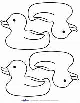 Printable Duck Rubber Printables Blank Template Coloring Ducky Clipart Shower Pages Clip Drawing Duckie Outline Cards Ducks Thank Coolest Templates sketch template