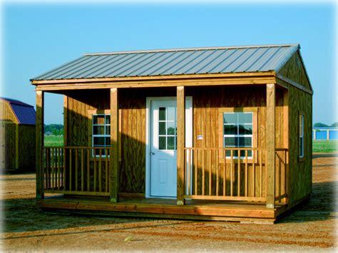 Portable Porches by Graceland Side Porch Cabin Discount Portable Buildings