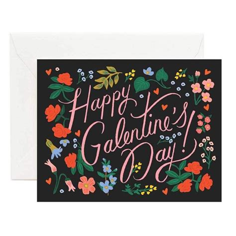 Happy Galentine's Day Greeting Card | Happy galentines day ...