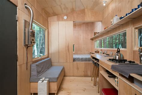 tiny house town lorraine  getaway homes  sq ft