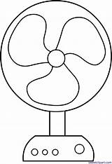 Fan Clipart Clip Electric Coloring Drawing Colouring Head Sweet Sweetclipart Cooling Candy sketch template