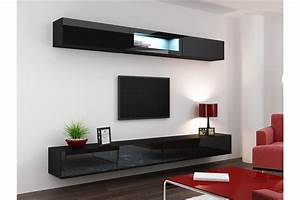 meuble tv design suspendu bini chloe design With attractive meuble de cuisine design 1 meuble tv design suspendu fino chloe design