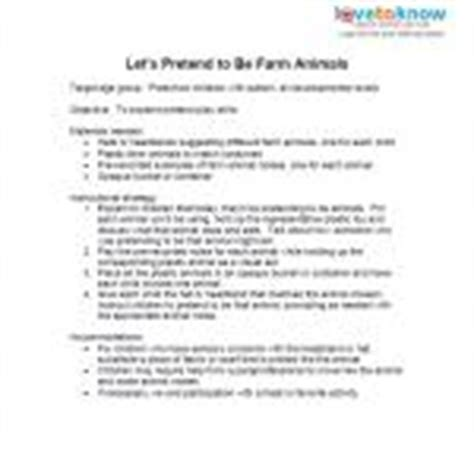 Lesson Plans For Preschoolers With Autism Lovetoknow