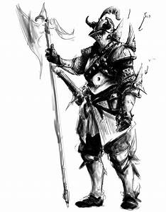 Drawings of Fantasy Armor images