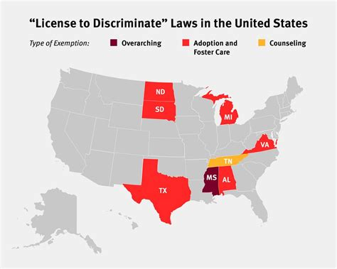 License To Discriminate Laws In The United States