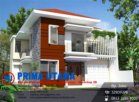 gambar jasa desain rumah murah bandung contoh