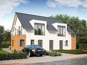 Haus Mit Büroanbau : doppelhaus lifestyle 23 massa haus ~ Markanthonyermac.com Haus und Dekorationen