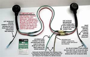 Dual Hi Beam    Dual Low Beam  U0026 Connector Upgrade