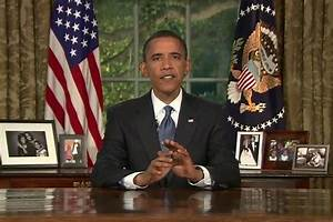US Jewish Leader: Obama's Oval Office Speech 'Frightening ...