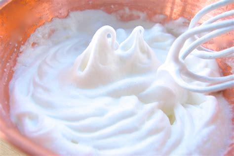 stiff peaks whipping egg whites joe pastry