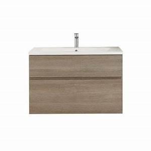 Meuble Salle Bain Castorama : meuble de salle de bain calao 90 cm castorama ~ Melissatoandfro.com Idées de Décoration
