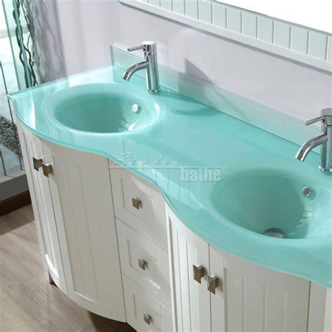 Magnificent 40+ Modern Bathroom Glass Vanities Design