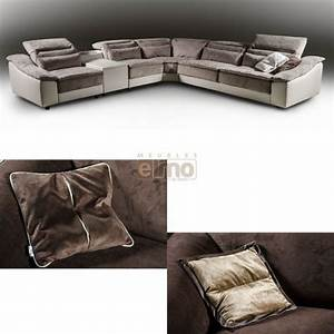 canape relaxation italien tetieres relevable cuir With canape cuir bicolore relax