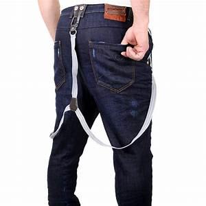 VSCT Jeans Herren Slim Fit Rinsed Mit Hosentrger Gnstig