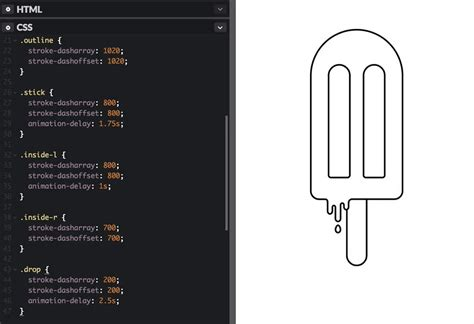 The animation is completely made using the svg animation functionality. SVG Line Animation for the Uninitiated - Bitmatica Lab ...