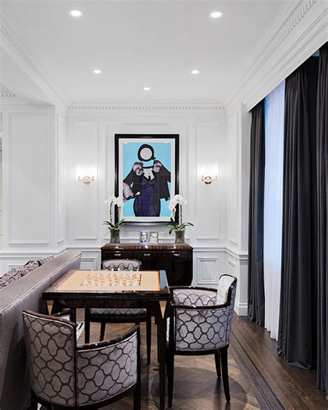 modern neoclassical interiors mixed  contemporary