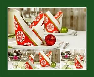 Servietten Falten Zu Weihnachten : tischdeko weihnachten deko ideen ~ Orissabook.com Haus und Dekorationen