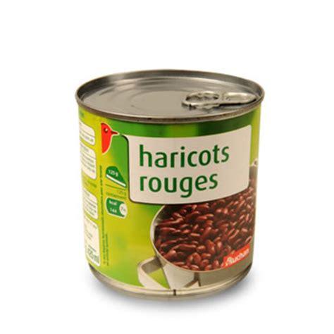 cuisiner les haricots rouges secs auchan haricots rouges 250g tous les produits conserves