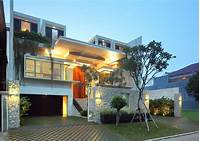 fine modern home design ideas Luxury Garden House In Jakarta | iDesignArch | Interior ...