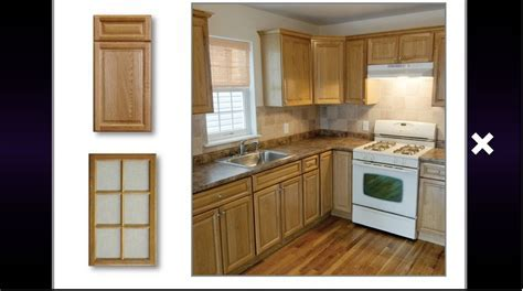 kitchen cabinets country oak