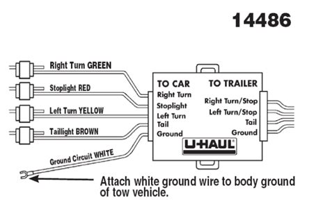 4 Way Trailer Hitch Wiring Diagram by Ul Wiring Diagram Technical Diagrams