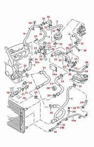 Audi A4  S4  Avant B5 Water Hose  Pipe 058121071a