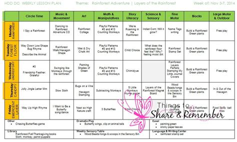 preschool rainforest lesson plans layers of the rainforest preschool activities 195