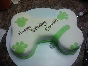 Dog Bone Cake - CakeCentral.com