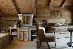Beautiful Interieur Chalet Bois Ideas - Design Trends 2017 ...