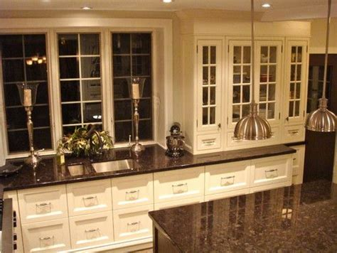 what color countertops go with white cabinets baltic brown granite with white cabinets kitchen ideas