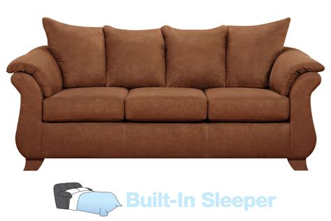 Vista Microfiber Queen Sleeper Sofa At Gardner-white