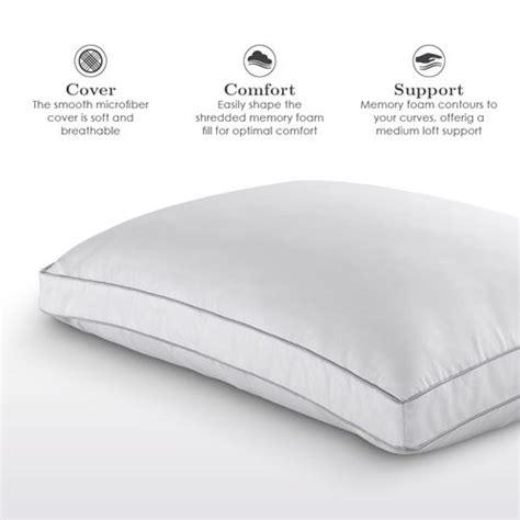 sleepwell cooling memory foam pillow martins furniture