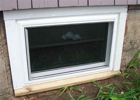 Basement Window Boxed Basement Window With Basement, Diy