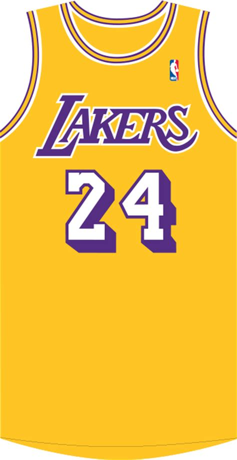 How To Draw A Lakers Jersey