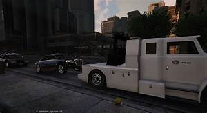 Chevrolet Tahoe Police Lights Police Towtruck Gta5 Mods Com