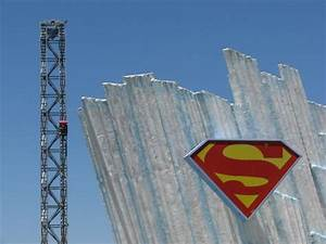 Superman The Escape Roller Coaster Photos, Six Flags Magic ...