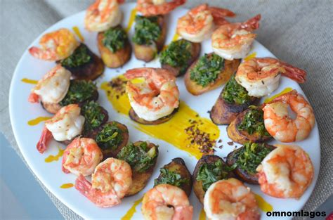 hors dourves plantain prawn and kale hors d oeuvres omnomlagos